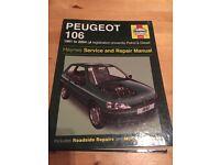 Haynes Manuel Peugeot 106