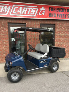 2017 CLUB CAR XRT UTILITY BLUE Cart Gas Powered EFI