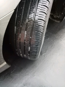 Used all season tire 4pcs without rim 205/55r/16