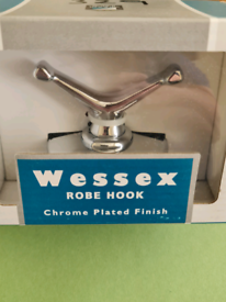 Chrome Plated Robe Hook