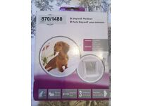 Staywell pet door cat flap dog flap small