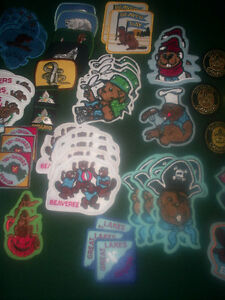 Scout & Beaver badges, most brand new $40 for all