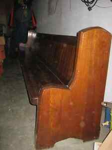 Vintage Church Pew