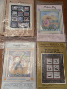 baby and child quilt patterns - 3 for $5