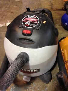 Craftsman Wet Dry Vac 60L 5.75HP $69
