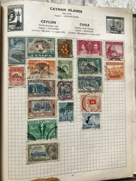Stamps of my 65 year's collections