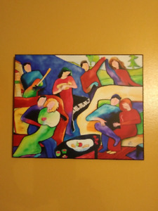 Mounted prints of acclaimed NS folk artist, Nora Robicheau