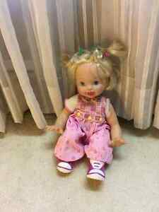 Pretty Doll - Battery Operated Cambridge Kitchener Area image 1