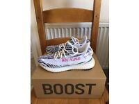 Adidas Yeezy 350 Boost Zebra - UK 9 - EXTREMELY RARE, BRAND NEW
