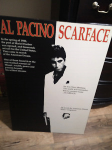 Vintage scarface poster