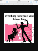 Licenced Hairstylist or 2nd Year Apprentice