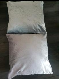 Next Grey Cushions x 2
