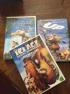 Up and Ice Age + Bonus DVDs