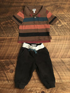 NEUF! NEW! Ensemble RUUM outfit. 6-9M (fits 6 months)