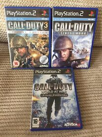 Ps2 call of duty cod PlayStation 2 games