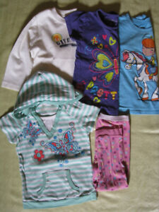 Lot of girls clothes (4T)