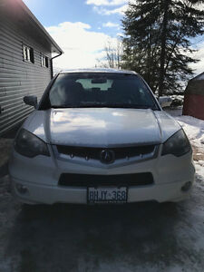 2007 White Acura RDX (Tech Package) SUV, Crossover