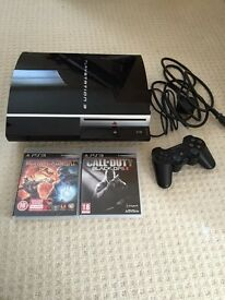 PS3 and 2 games
