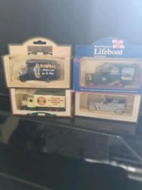 Vintage car and van