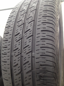 Set of 4 Continental Summer tires 185/65/15