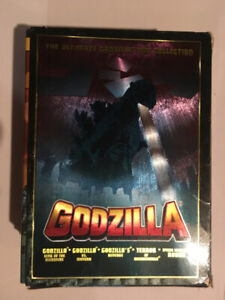 The Ultimate GODZILLA DVD Collection 5 DVDS