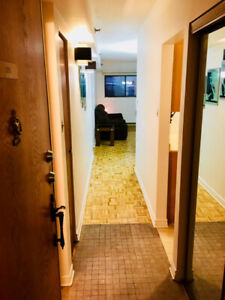 *All included* Furnished 2 bedrooms half-basement near McGill