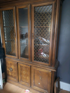 Antique Hutch/Wall Unit/China cabnet