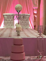 Bridal His/Her/King/Queen chairs and SOFA for Rent