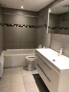 4 1\2 Ste-Dorothée,nouvellement peinturer salle de bain neuve.