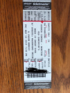 4TIX-OLD DOMINON-Moncton- May 10th-FLOOR SEATS
