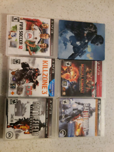 Ps3 games for 5 each or tread.