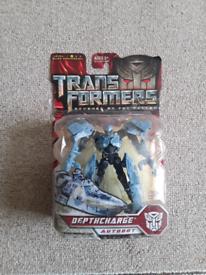 Transformers Revenge of the fallen dephcharge figure