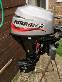 Modern 8hp 2016 /2017 Mariner 4-stroke outboard engine