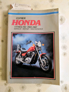 Clymer manual for Honda vt700 and 750s