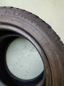 2 winter tires 205/55 R16 Kumho.