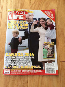 """Royal Life"" Magazine - issue #43 - Feb/March 2017  - only $3"