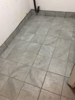 Professional Tile Setter and Laminant Floor installer available
