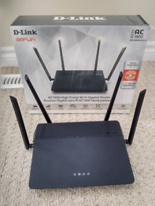 D-Link Router and Extender