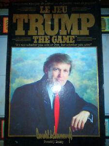 Trump the Game original boardgame COLLECTIBLE!(see ebay prices!)