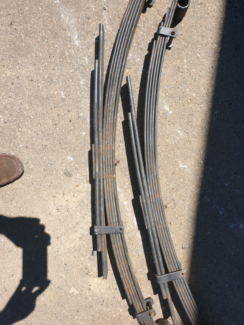 Toyota hilux suspension (leaf springs) Mandurah Mandurah Area Preview