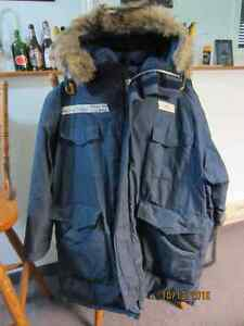 Arctic Parka/Jacket and Wind Pants (Down Filled)