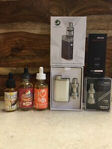 All New High End Vape Gear with Juice.