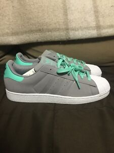 Adidas Men Shoes Size 13, Brand New, Grey/Green/White