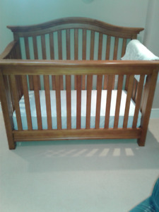 Crib, change table and other baby items