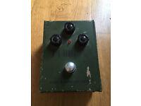 Electro harmonix vintage tall font green Russian big muff