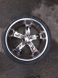 "22"" Chrome Rims"