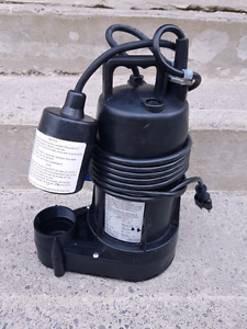 1/3 HP Sump Pump