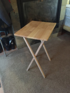 Folding tables and chair