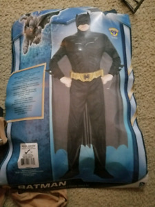 Batman and Ghostbuster Halloween costumes for sale