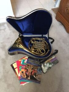 Double French Horn & Baritone Horn